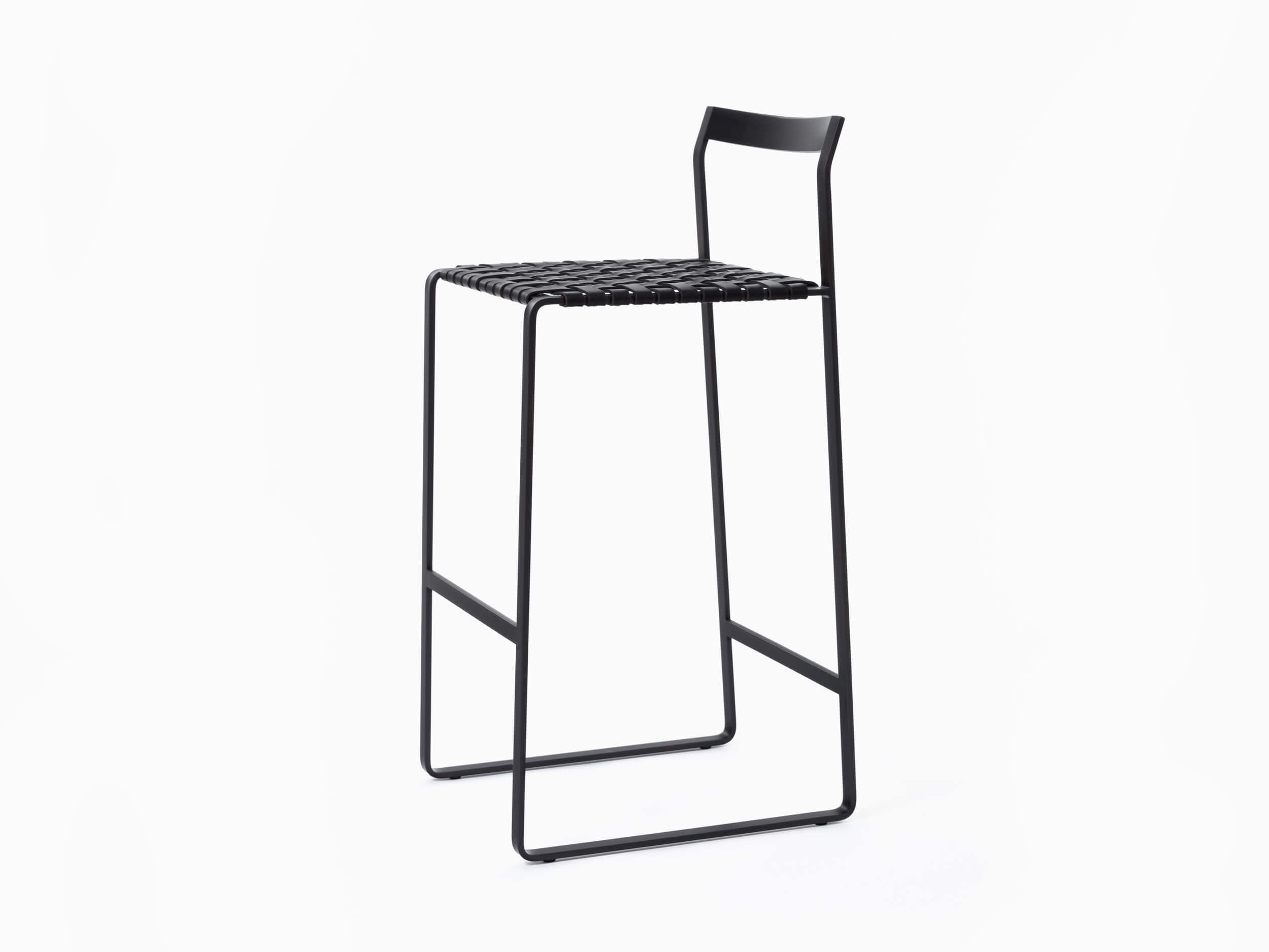 Outstanding Metal Back Stool Mark Albrecht Studio Caraccident5 Cool Chair Designs And Ideas Caraccident5Info